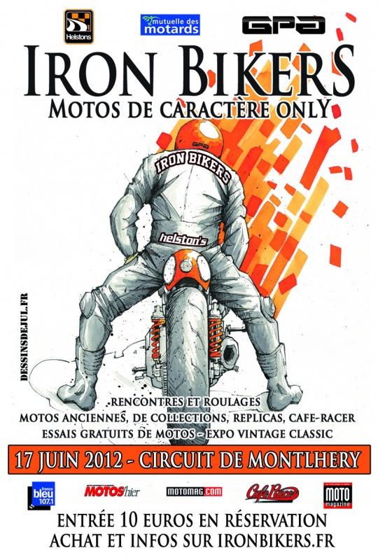 Iron Bikers Montlhery 2012