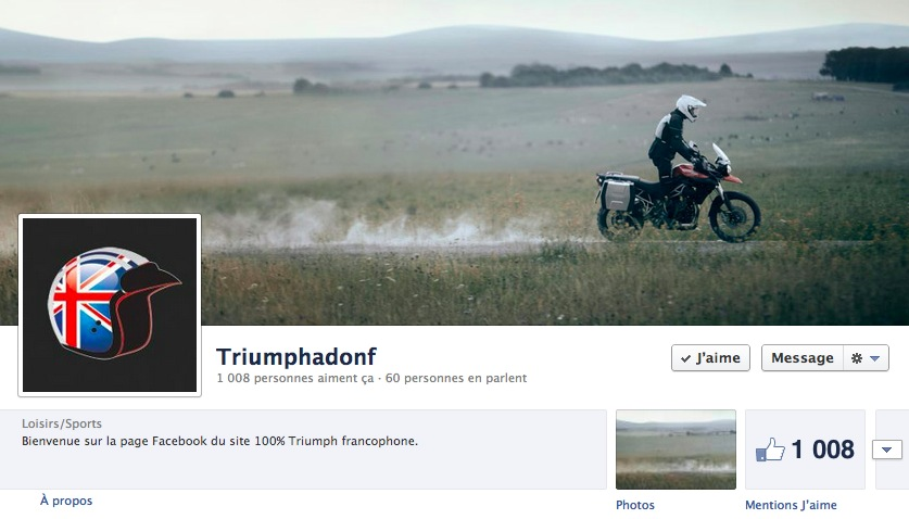 Facebook : la barre des 1000 fans !